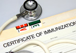 certificate of immunization