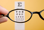 glasses eye exam